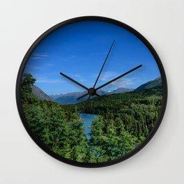 Cooper_Landing 4158, Kenai Peninsula, Alaska Wall Clock