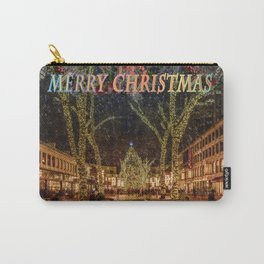 Merry Christmas, Boston Carry-All Pouch