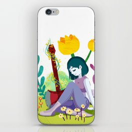 Marcy iPhone Skin
