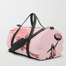 Pink Rain Duffle Bag