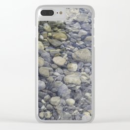 River + rocks Clear iPhone Case