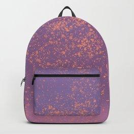 Pastel Splatter 1 - digital art Backpack