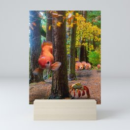 Woodland Aquarium Mini Art Print