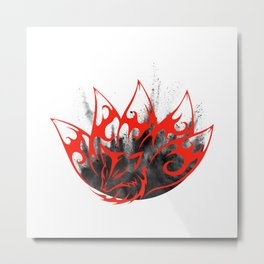 Phoenix Rise from the ashes Metal Print