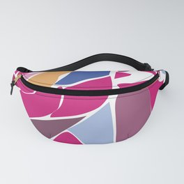 Modern Abstract with Structure Head - Face Fanny Pack