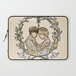 """Illustration from the video of the song by Wilder Adkins, """"When I'm Married"""" Laptop Sleeve"""