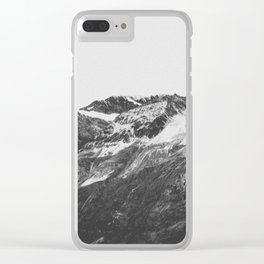 THE MOUNTAINS XVI / Switzerland Clear iPhone Case