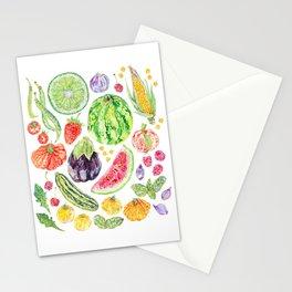 Summer Harvest Stationery Cards