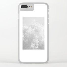Whitewash Clear iPhone Case