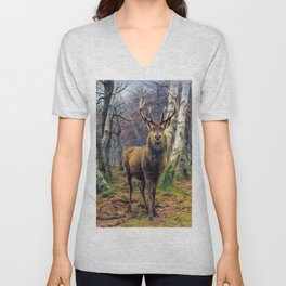 The King Of The Forest - Digital Remastered Edition Unisex V-Neck