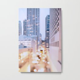 Pastel Nights Metal Print