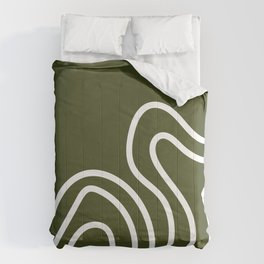 Leaf Thumbprint Comforters