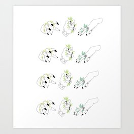 Witchy Hands Art Print