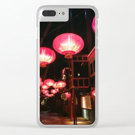 Lanterns Clear iPhone Case