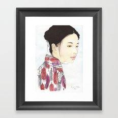 Kind Mother Framed Art Print