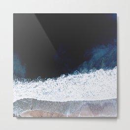 Ocean III (drone photography) Metal Print