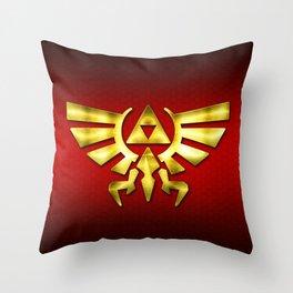 Link Zelda Throw Pillow