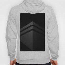 Black shape.3D Rendering Hoody