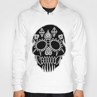 led zeppelin Hoodies featuring LED Skull by Max Wellsman