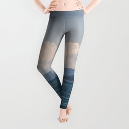 EAGLE CLIFF ON CYPRESS ISLAND FROM ROSARIO STRAIT Leggings