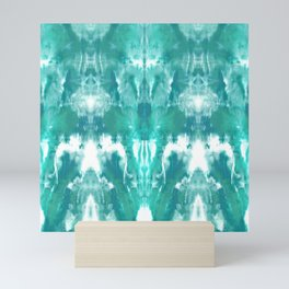 Aqua Blue Lagoon Mini Art Print