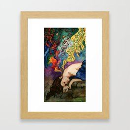 A Thousand Dreams Within Me Softly Burn... Framed Art Print