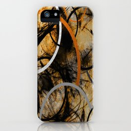 Rustic Hypnosis iPhone Case