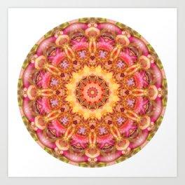 Be Free Mandala Art Print