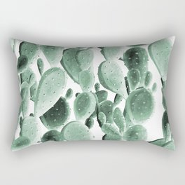 Climbing Cacti Rectangular Pillow