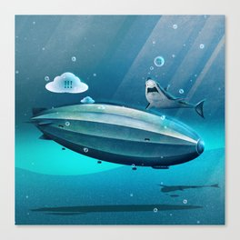 Weird Waters Canvas Print