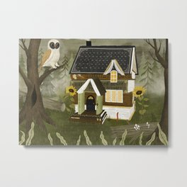 book cottage Metal Print
