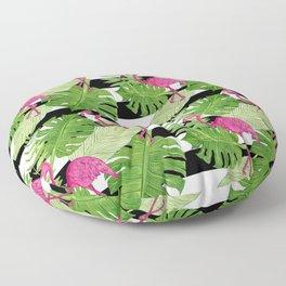 Flamingo Party II Floor Pillow