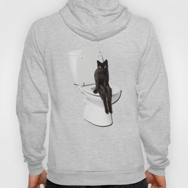 Toilet Cat Hoody