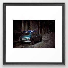 Mini in Palermo Framed Art Print