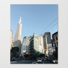 Street SF Canvas Print