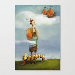 Nebe Canvas Print