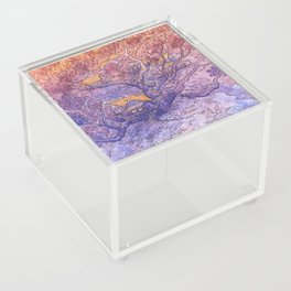 Enchanted Treehouse Acrylic Box
