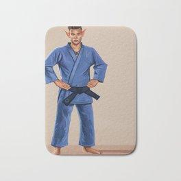 Karate Elf Bath Mat