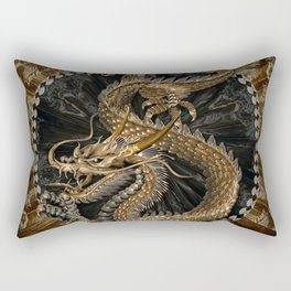 Dragon Pentagram Rectangular Pillow
