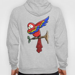 Funny Dabbing Parrot Bird Pet Dab Dance Hoody