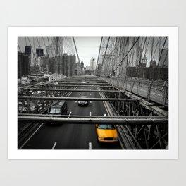New York, New York  #3 Art Print