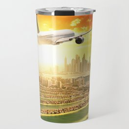 traveling in dubai Travel Mug