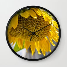 Take Cover [SUNFLOWER] Wall Clock