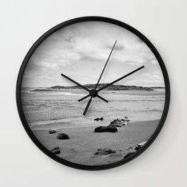 Beach - New Zealand South Coast Wall Clock