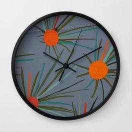 Espinas de México Wall Clock