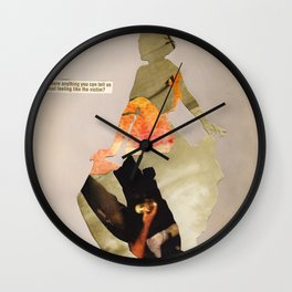 """I'm a bad person and I'm trying to rebuild? Help me?"" Wall Clock"