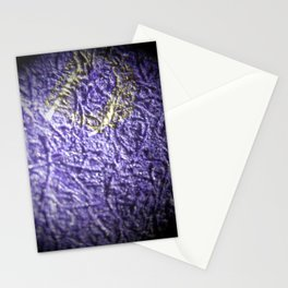Purple&Gold Stationery Cards