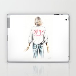 Give me a break Laptop & iPad Skin