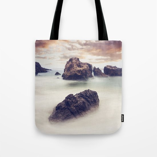 Sunset Seascape Tote Bag