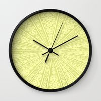 morocco Wall Clocks featuring Morocco by Crockettsky